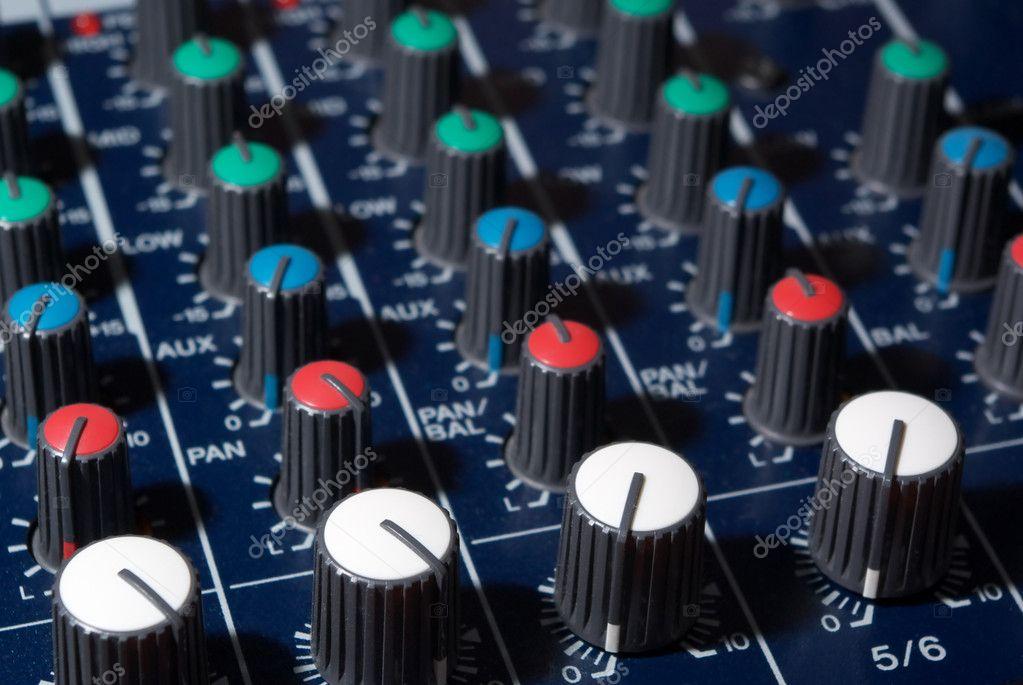 Mixing console � Stock Photo � zatvor #1160687