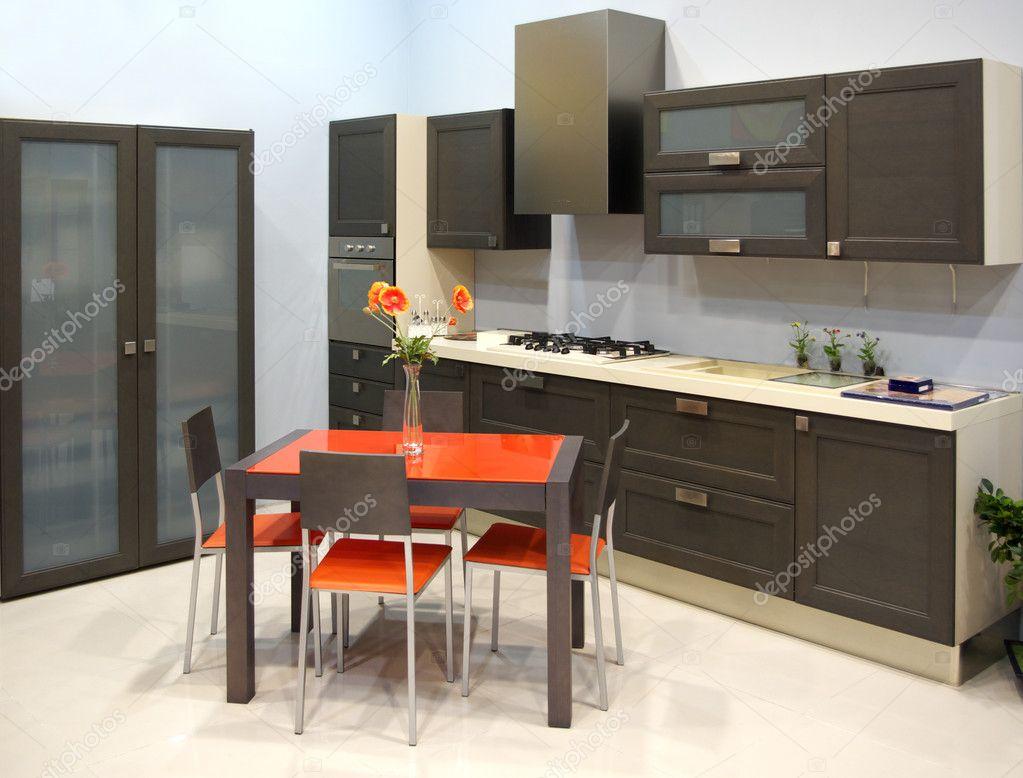Moderne keuken — stockfoto © zatvor #1375303
