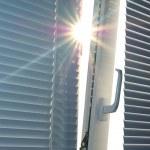 Sun through the window. — Stock Photo