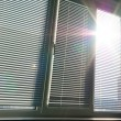 Sunlight through the big window. - Stock Photo