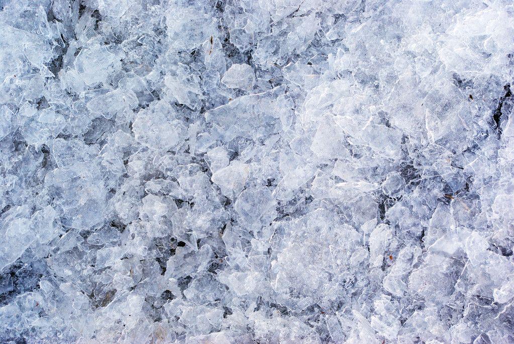 Texture of broken ice � Stock Photo � zatvor #1628064