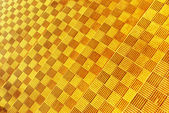 Yellow geometry texture — Stock Photo