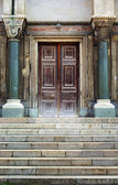 Old entrance — Stock Photo