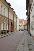 Lane of an old city — Stock Photo
