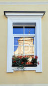 The window in the house of classical sty — Stock Photo