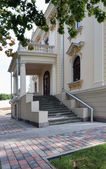 Palace in Vilnius old city — Stock Photo