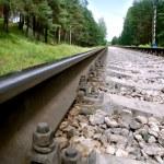 tory kolejowe — Zdjęcie stockowe