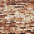 Abstract close-up brick wall background — Stock Photo