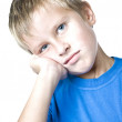 Young man with a pensive expression — Stock Photo #1108700