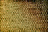 Rough flax fabric texture — Stock Photo