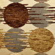 Brown textile flax fabric — Stock Photo #1480983