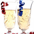 Two Champagne glass — Stock Photo