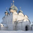 Old church and Cathedral of Suzdal — Stock Photo