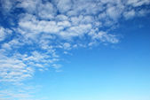 Blue sky with cloud high contrast — Stock Photo