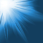 Soleil image générées numériquement — Photo