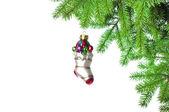 Christmas decoration on background — Stock Photo