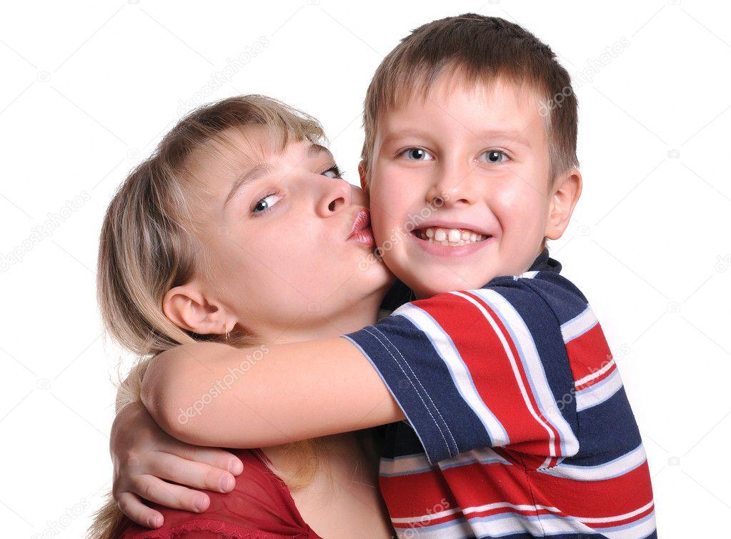Российская мама и сын 15 фотография