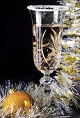 Goblet champaign, — Stock Photo