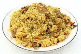 Pilaf pork — Stock Photo