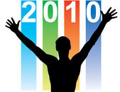 New Year Calendar — Stock Vector