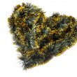 Stock Photo: Heart of tinsel