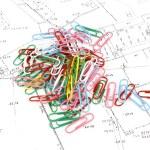 Geodetic map — Stock Photo