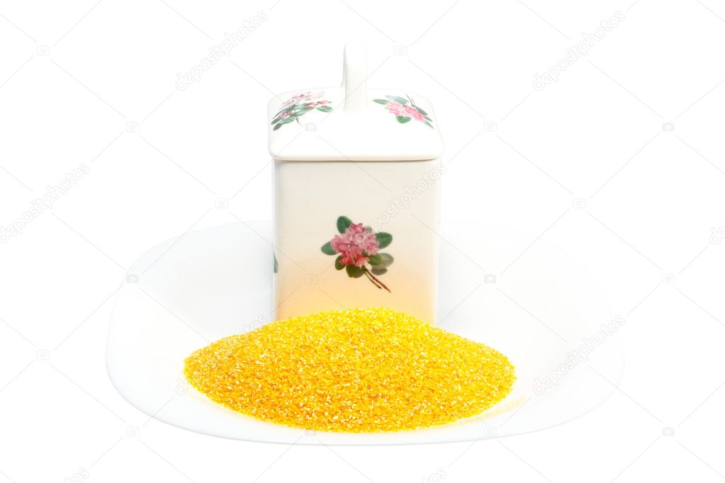 China bank for storage of bulk products from corn grains  Stock Photo #2268777
