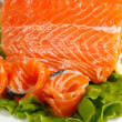 Salted salmon — Stock Photo #2414835