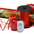 Stock Photo: Material for packing of gifts