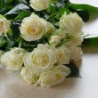 White roses — Stock Photo #1218929