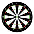 Dart board — Photo