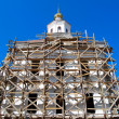 Church under construction — Stock Photo