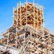 Royalty-Free Stock Photo: Сhurch under construction