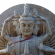 Stock Photo: Old Buddhist statue