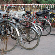 Old bicycles — Stock Photo #1180792