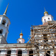 Church under construction - Stock Photo