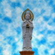 Statue of Guanyin goddess — Stock Photo