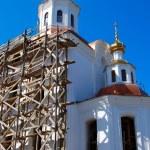 Church under construction — Stock Photo