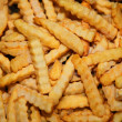 gefrorene french-fries — Stockfoto