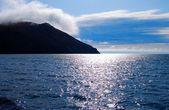 Lake Baikal. Storm. — Stock Photo