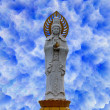 Statue of the Guanyin goddess — Stock Photo