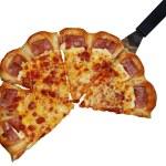 Sausage pizza — Stock Photo