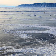 frozen lake baikal — Stock Photo #1822734