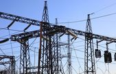Electrical power station — Stock Photo
