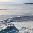 frozen lake baikal — Stock Photo #1836532