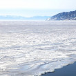 Foto de Stock  : Frozen Lake Baikal