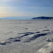 Stock Photo: Frozen Lake Baikal