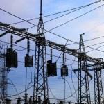 estación de energía eléctrica — Foto de Stock