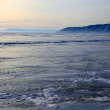 Foto Stock: Frozen Lake Baikal
