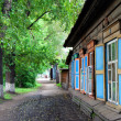 wooden houses — Stock Photo